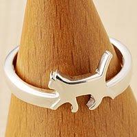 猫指輪リング(猫足)