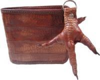 マノッコレザーウォレット(鶏の革財布)