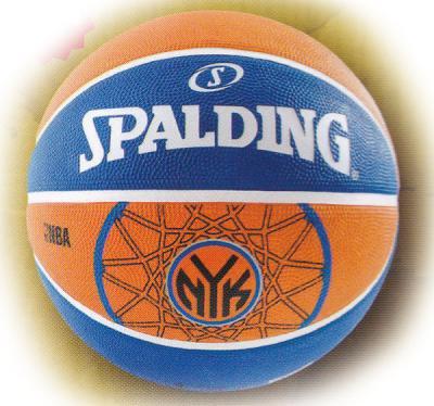 SPALDING(スポルディング)NBAバスケットボール ニューヨークニックス 7号 83-159Z