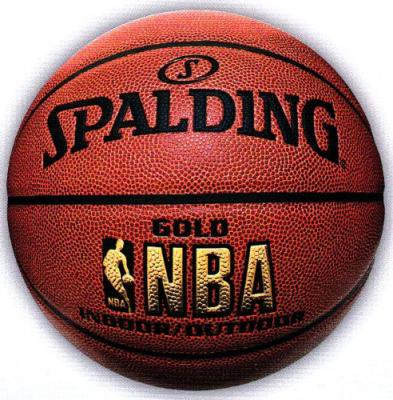 SPALDING(スポルディング)NBA GOLD バスケットボール6号