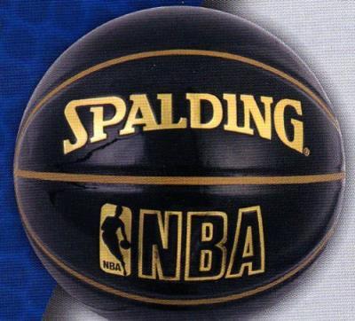 SPALDING(スポルディング)UNDERGLASS バスケットボール7号 ブラック