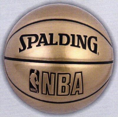 SPALDING(スポルディング)UNDERGLASS バスケットボール7号 ゴールド