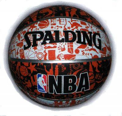 SPALDING(スポルディング)Graffiti バスケットボール7号