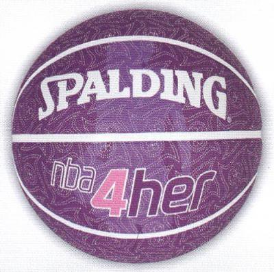 SPALDING(スポルディング)NBA 4HER PATTERN バスケットボール6号