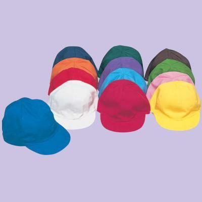 小学生用カラー帽子・裏白