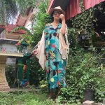 <img class='new_mark_img1' src='https://img.shop-pro.jp/img/new/icons1.gif' style='border:none;display:inline;margin:0px;padding:0px;width:auto;' />★全2色★BOHO Chic◎コットンワンピース<br>botanical