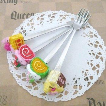 プチケーキ ケーキフォーク4本セット