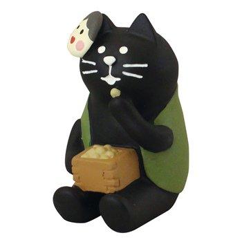 concombre コンコンブル 豆好き黒猫