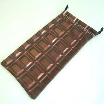 チョコレート マイクロファイバーポーチ 「クロネコDM便対応可」