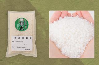 丹波篠山産 無農薬栽培米 越光 1kg(真空パック)<br>(令和2年度産)