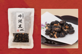 【丹波黒まるごとの豆菓子】丹波黒大豆の素焼き 80g