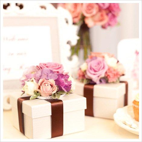 1万円以上もお得!会場装花やブーケなど結婚式のお花をセットにしたプラン [ Sweet Plan ]
