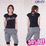 QV☆ストレッチフレンチTシャツ