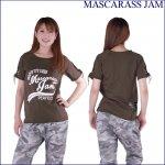 MJ☆編みこみカットオンTシャツ