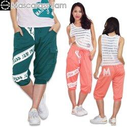 MJ☆TTMサイドポケット付きカプリパンツ