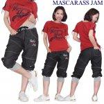 MJ☆アイレット付DVDカプリパンツ-8