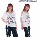 MJ☆肩開きメッシュドルマンT