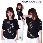 MJ☆肩クラッシュラグランT-10