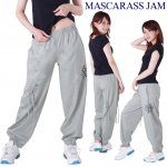 MJ☆クラッシュ編み込みロングパンツ-2
