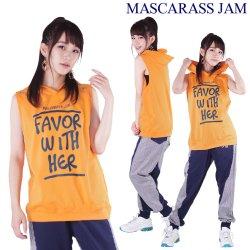 MJ☆アイレット付きノースリパーカー2