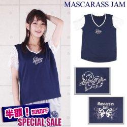MJ-☆レース袖T