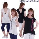 MJ☆バックVカットT(ブラック)<img class='new_mark_img2' src='https://img.shop-pro.jp/img/new/icons24.gif' style='border:none;display:inline;margin:0px;padding:0px;width:auto;' />