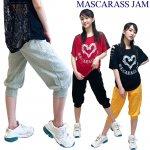 MJ☆針抜きフライスカプリパンツ