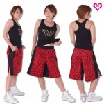 MJ☆ファイティング格闘技パンツ(レッドゼブラ柄)<img class='new_mark_img2' src='https://img.shop-pro.jp/img/new/icons24.gif' style='border:none;display:inline;margin:0px;padding:0px;width:auto;' />