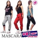 フィットネスウェア マスカラスジャム☆ユニセックスSVRスウェットパンツ