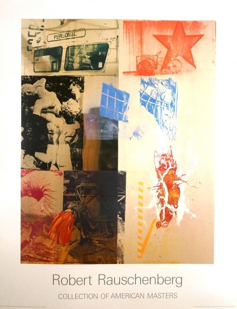 Robert Rauschenberg/FAVOR RITES(URBAN BOURBON SERIES) 1988