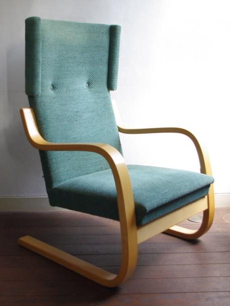 Alvar Aalto/Arm Chair No.401 /Fabric