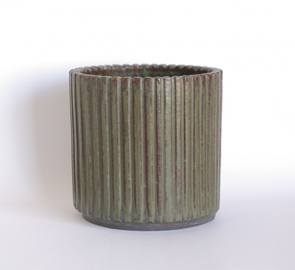 Arne Bang/ribbed vase