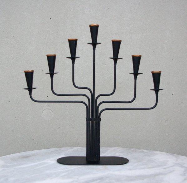 Gunnar Ander/Ystad Metall/Candleholder/Black_2