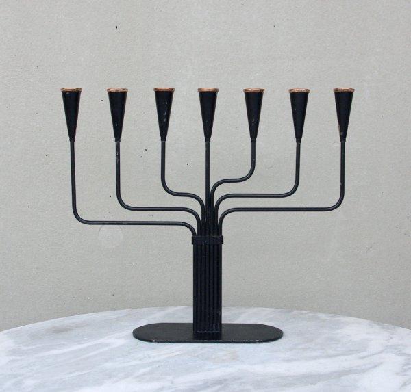 Gunnar Ander/Ystad Metall/Candleholder/Black_1