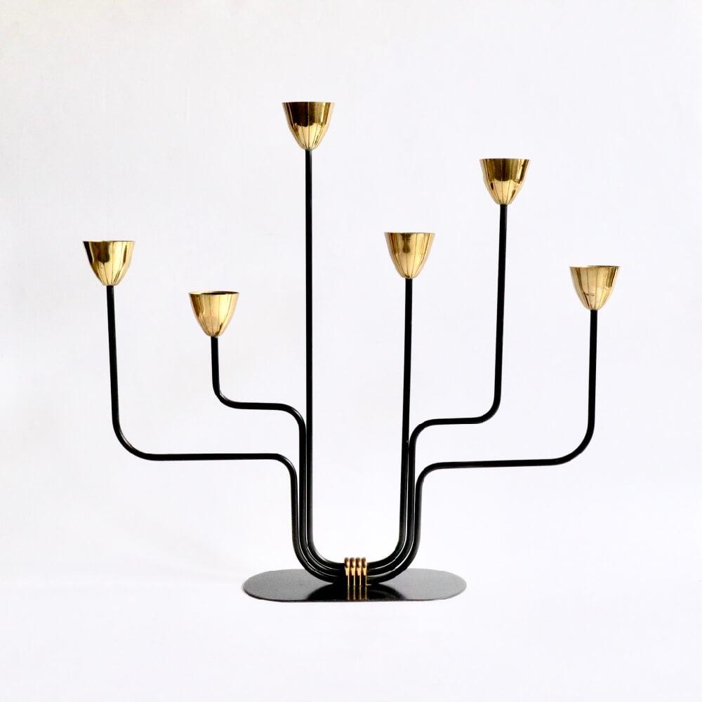 Gunnar Ander/Ystad Metall/Candleholder/Large