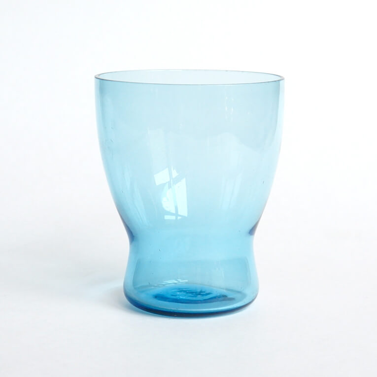 Saara Hopea/Nuutajarvi/ Tumbler # 1710 /Light Blue
