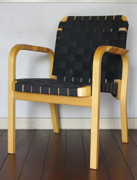Alvar Aalto / Arm Chair No.45 /Black