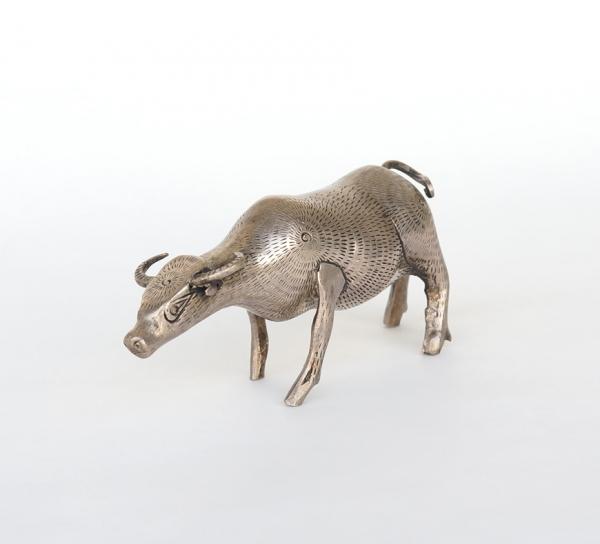 Khmer Silver Object / Buffalo