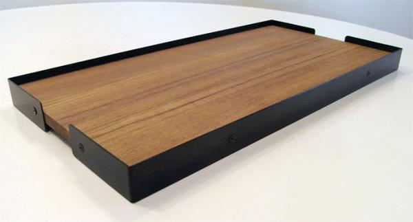 ENOUGH/ teak tray
