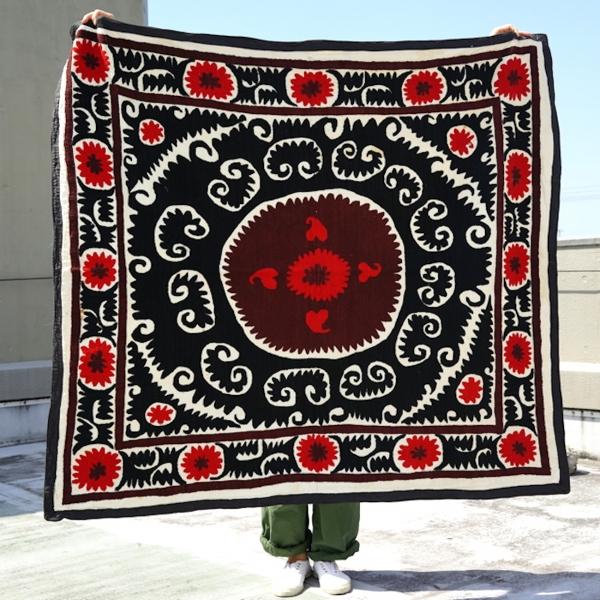 ウズベキスタン/Suzani/Vintage