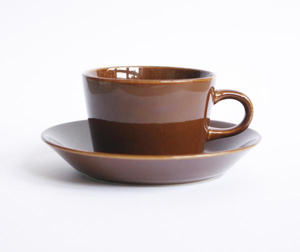 Kaj Franck/KILTA/Cup&Saucer /Brown