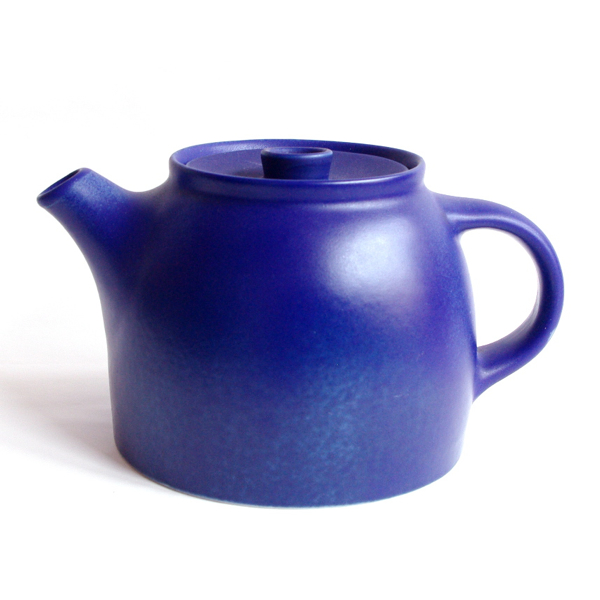Richard Lindh, Francesca Mascitti-Lindh / tea pot /Blue(Lapis Lazuli)