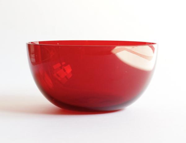 Kaj Franck/ Nuutajarvi/Bowl/1340 Red