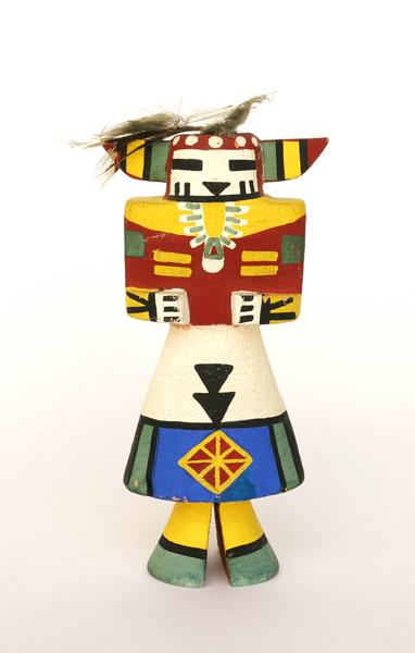 Kachina Doll/Abbott Sakiestewa/RAINBOW