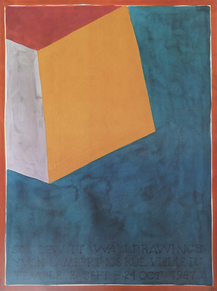 <img class='new_mark_img1' src='https://img.shop-pro.jp/img/new/icons57.gif' style='border:none;display:inline;margin:0px;padding:0px;width:auto;' />Sol Lewitt 1987