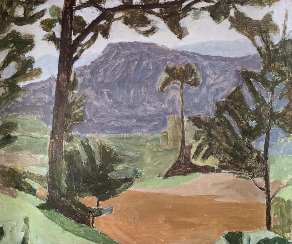 Giorgio Morandi , Paesaggio ,1935-1936 ( v.211 )
