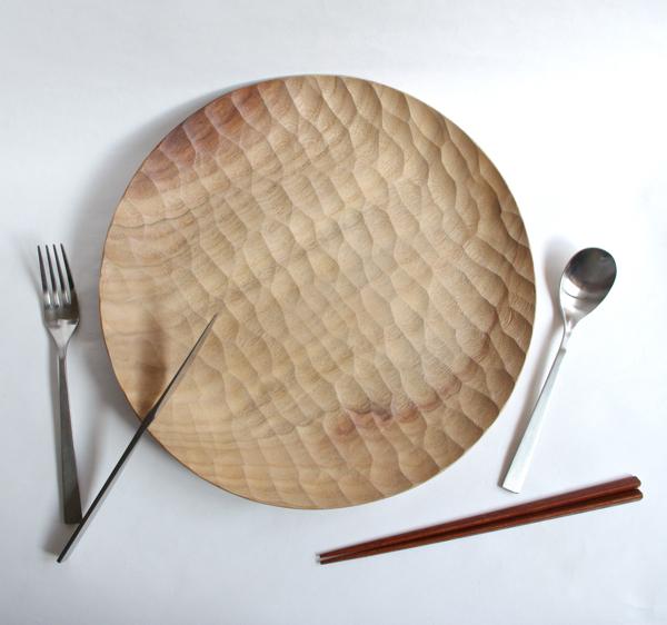 アキヒロ ジン / Wood Plate 300
