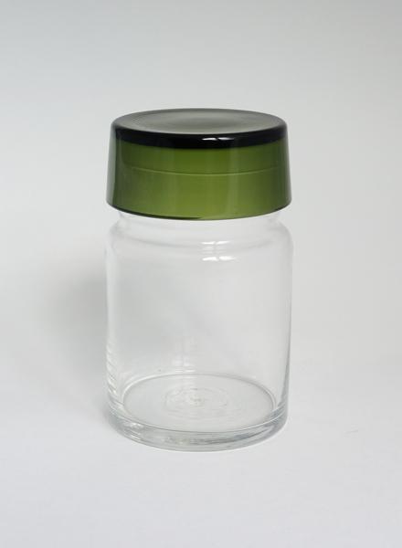 Saara Hopea/Nuutajarvi/Spice Jar#1931_Green