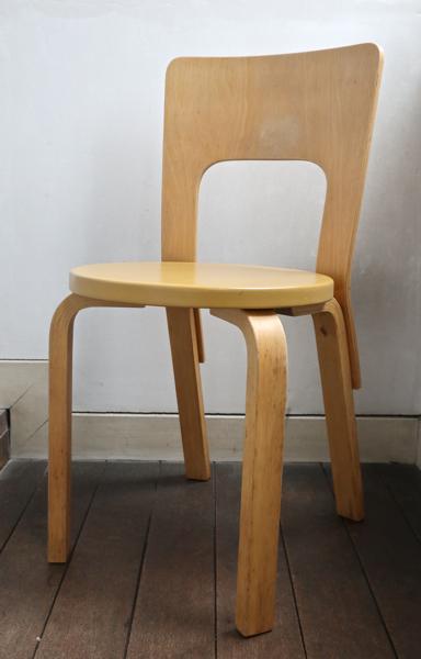 Alvar Aalto/Chair No.66 /Beige