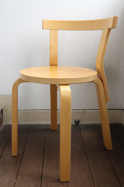 Alvar Aalto/Chair No.68 /Natural